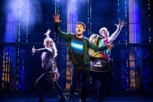 Lighting Thief The Musical scene photo