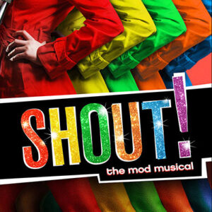 Shout! the Mod Musical logo
