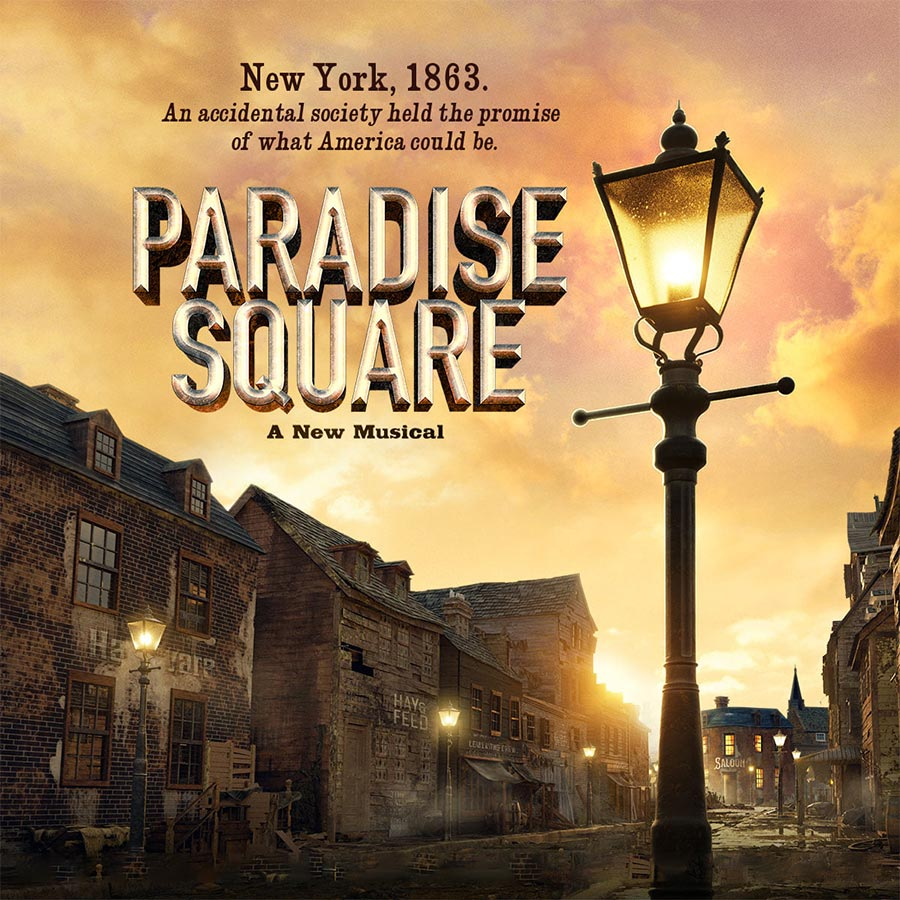 Paradise Square Musical show artwork
