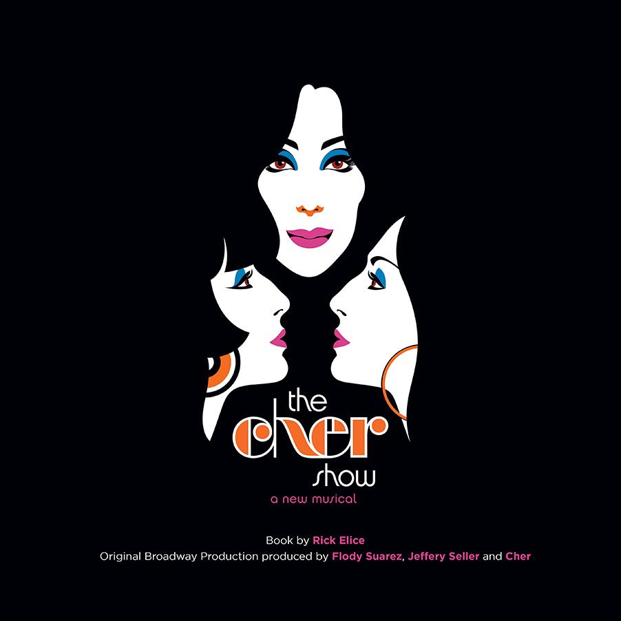 The Cher Show logo art
