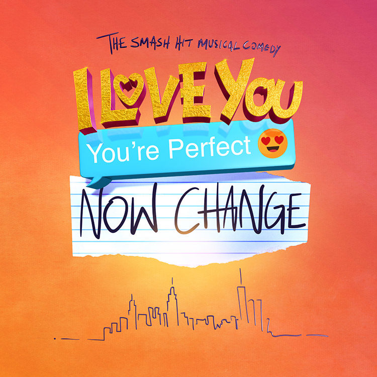I Love You You're Perfect Now Change Logo