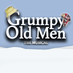 Grumpy Old Men the Musical logo